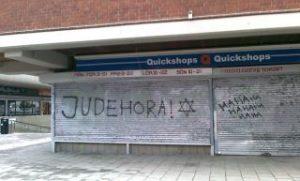 Antisemitism i Bredäng 2012-01-21