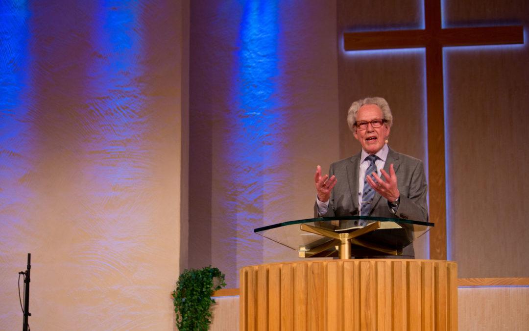 Sven Nilsson predikar på konferensen Re-Formation